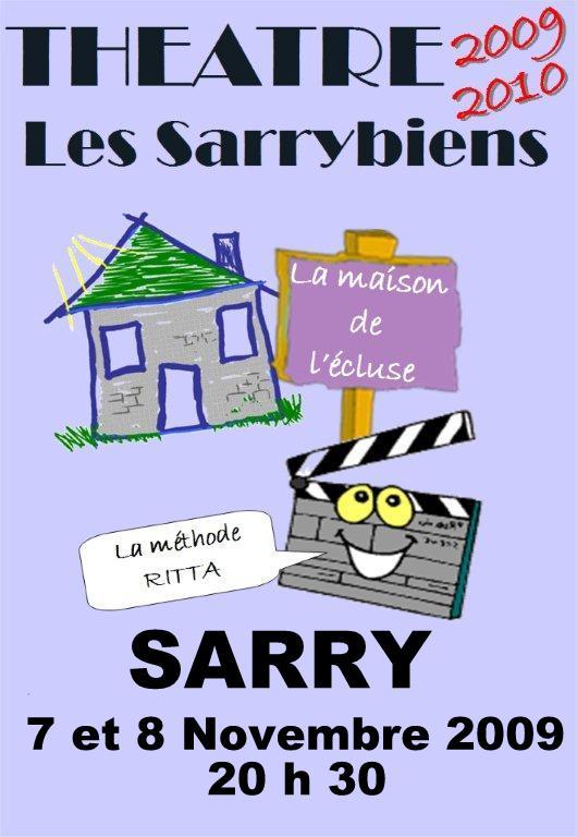 affiche 2009-2010 sarry